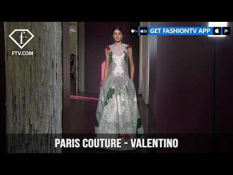 Paris Couture Fall/Winter 2017-18 - Valentino | FashionTV