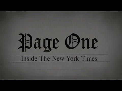 Primeira Página: Por Dentro do New York Times