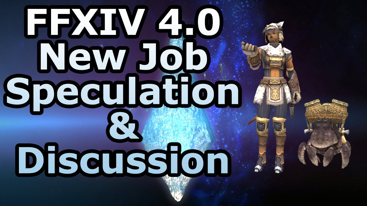 FFXIV 4 0 - New Job Speculation! Blue Mage, Red Mage, Samurai, and more!