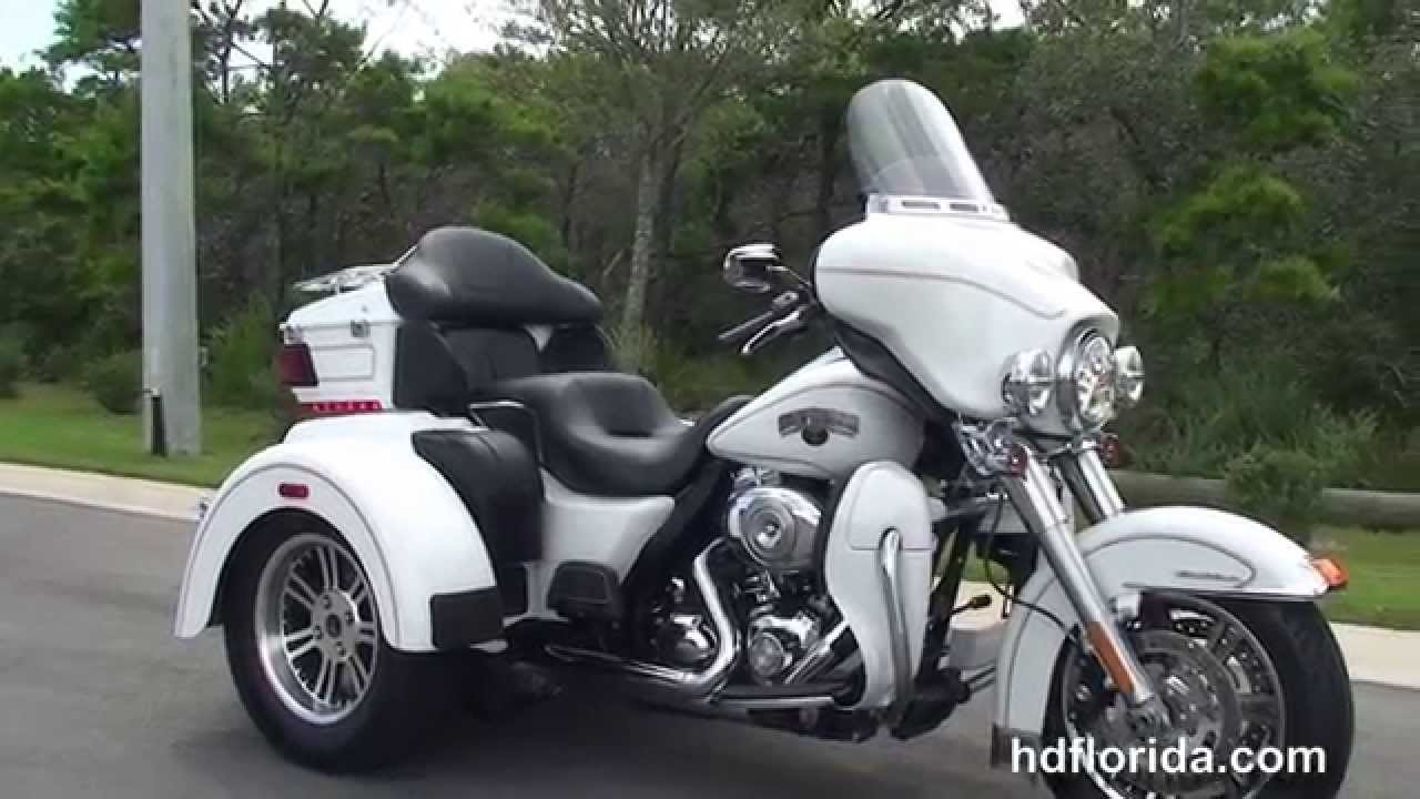 Used Harley Davidson Motorcycles >> Used 2012 Harley Davidson Tri Glide Trike for sale - Panama City, FL - YouTube