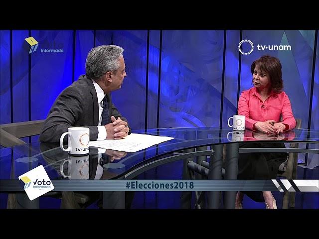 VOTO INFORMADO, PURIFICACIÓN CARPINTEYRO Y MARCO RASCÓN  CANDIDATOS A LA JEFATURA DE GOBIERNO CDMX