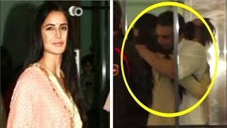 Katrina Kaif HUGGING Sohail Khan At Salman Khan's EID Party 2018
