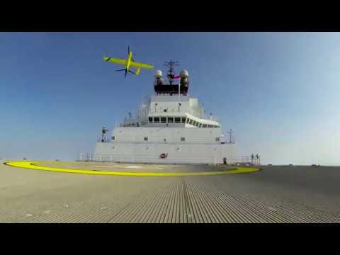 Aerovel Precision Fairweather   Flexrotor Arctic Ocean
