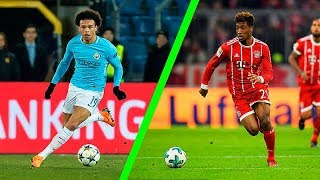 Top 10 Fastest Young Players 2017/2018