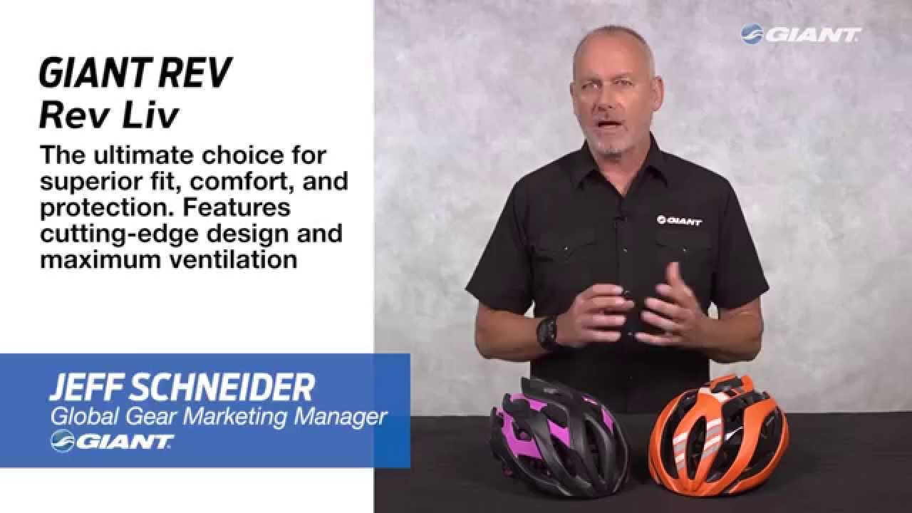 6bf28598416 2016 Giant Rev and Rev Liv On-Road Performance Helmets - YouTube