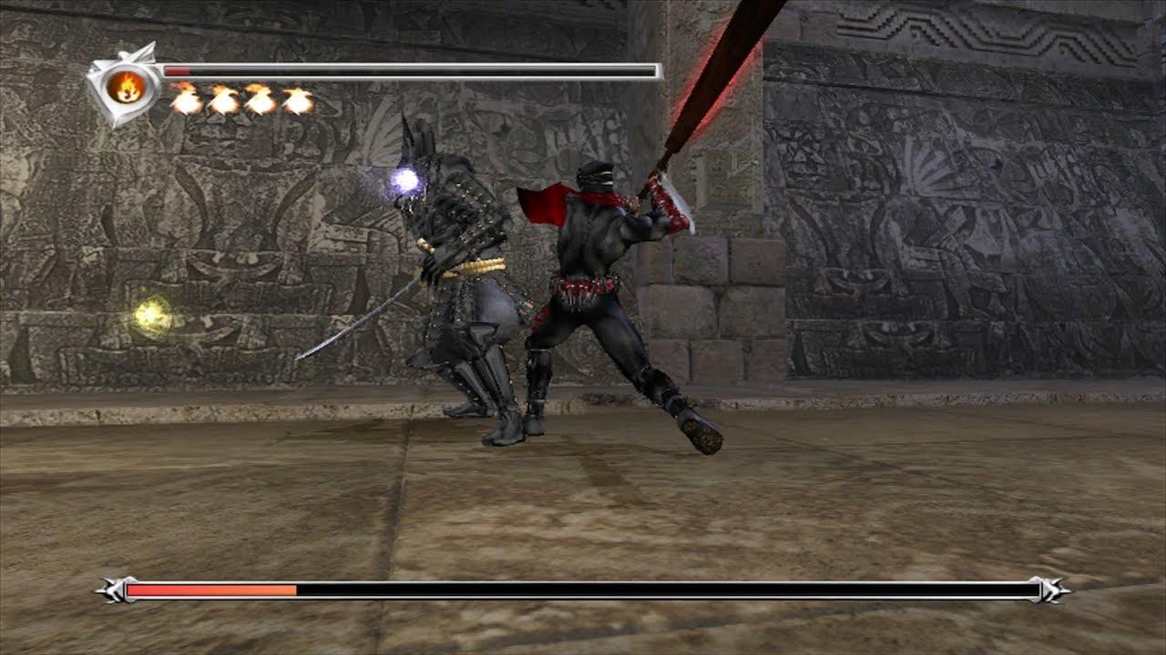 Ninja Gaiden Black Doku Boss Fight Very Hard Mode Youtube