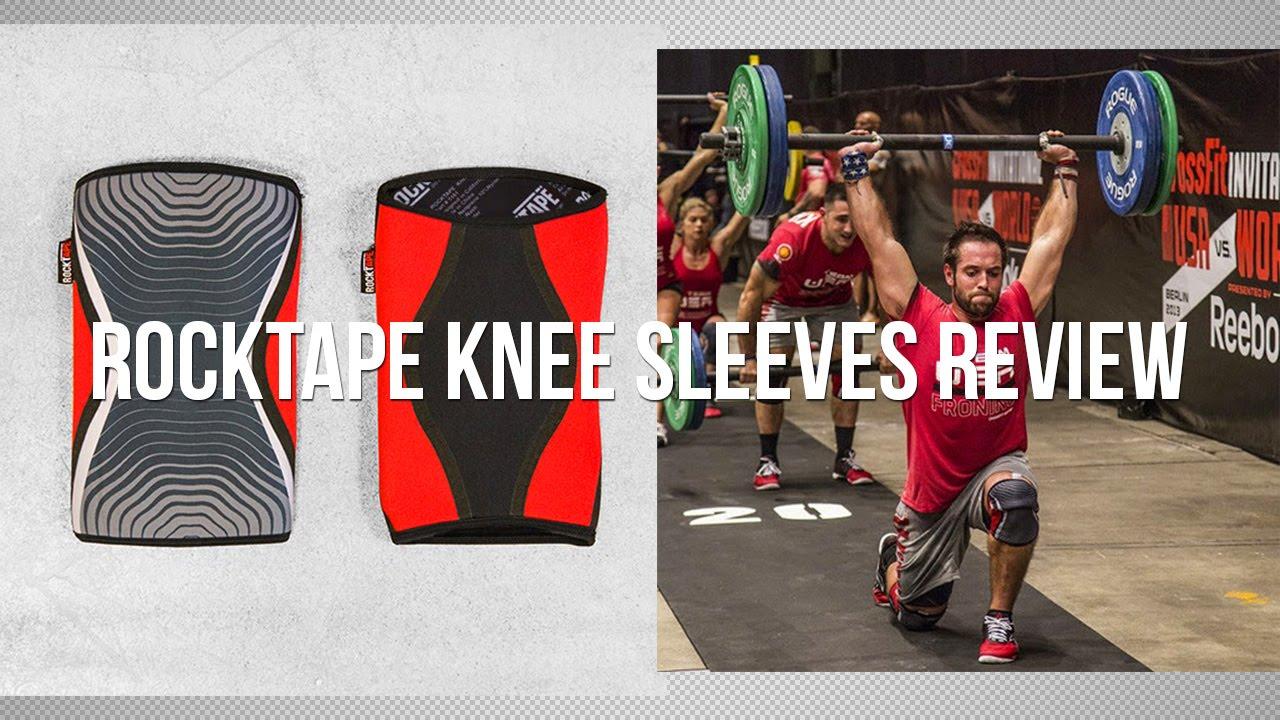 38e217184e Rocktape Knee Sleeve Review / Rehband Comparison - YouTube