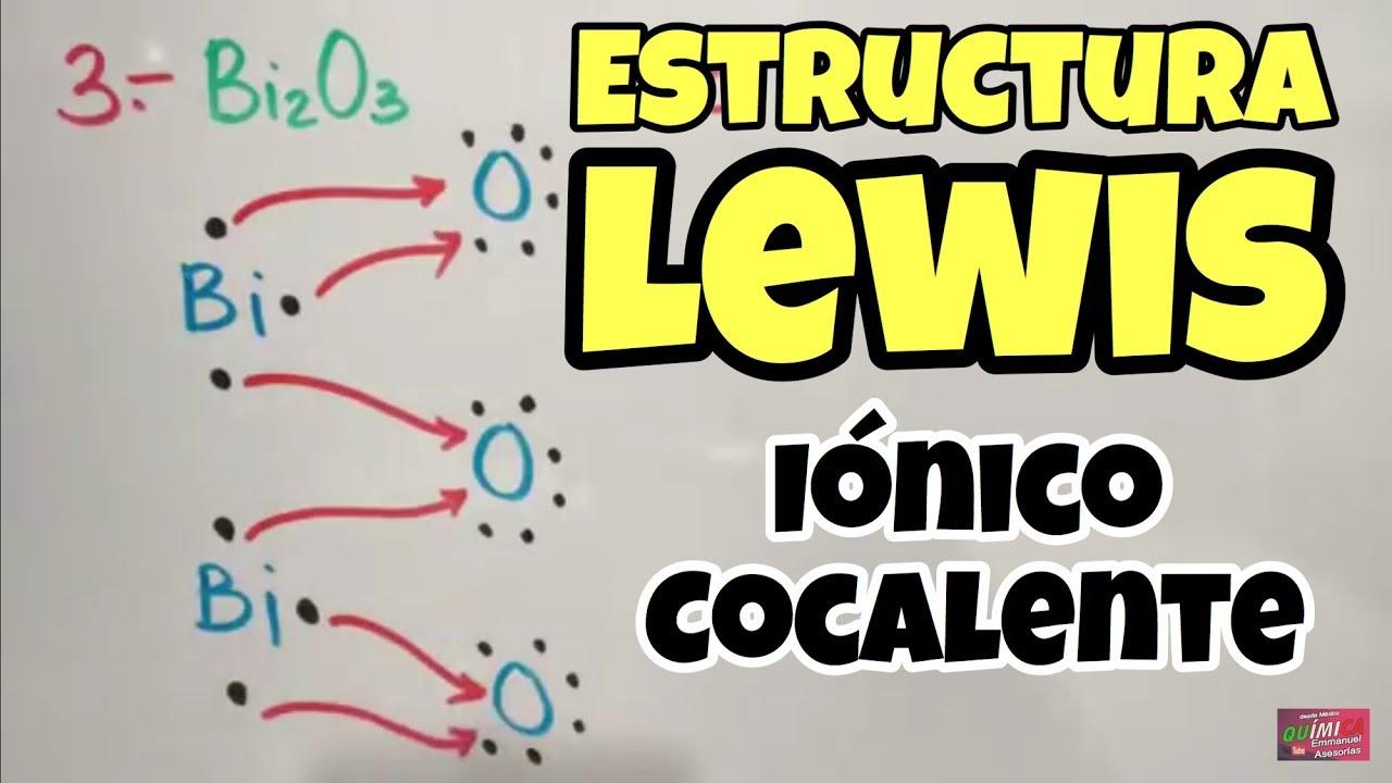 Estructura De Lewis Paso A Paso Enlaces Químicos