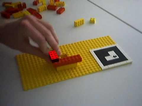 LEGO Manual With ARToolKit