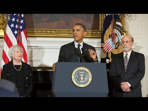 President Obama Nominates Dr. Janet Yellen as Fed Chair