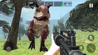 DINOSAURS HUNTER 3D 2019 - Walkthrough Gameplay Part 6 -THE END ( Dinosaurs Android Game)