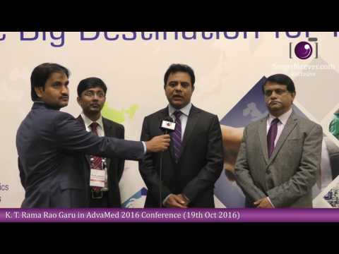 Minister KTR Participates At AdvaMed Conference In Minneapolis (Minnesota - USA)