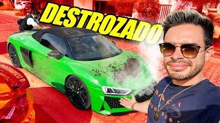 DESTROZARON EL MOTOR DE SU AUTO POR VENGANZA 😱😢