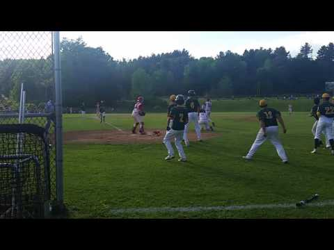 Abdiel Cotto scores on Drew DeMartino bunt to help No. 2 Taconic high school baseball walk off over