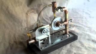 Stirling engine alpha homemade