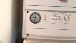 Alpha CD25x Boiler loosing pressure   flashing red lights