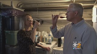 Garages aren't just for tool and cars anymore. you might want to make room now bottles. some people in the la area are using space wine....