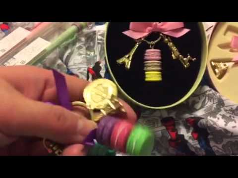 Recent Purchase And Review Of Laduree Bag Charms And Products