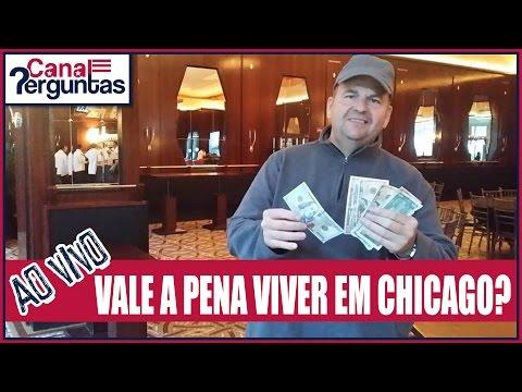 🔴[AO VIVO] Custo de vida em Chicago Illinois EUA ✔