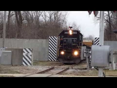Central Midland Railway's Union Local in Chesterfield, Missouri