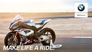 IN THE SPOTLIGHT: The new BMW HP4 RACE.