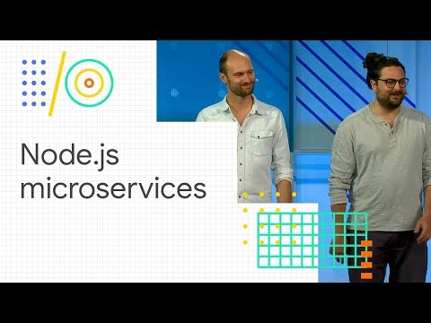 Deploying serverless Node.js microservices (Google I/O '18)