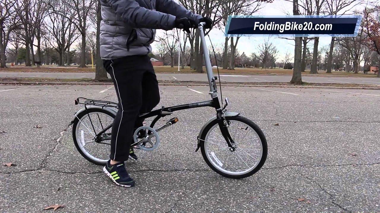 Dahon Boardwalk Folding Bike Test Ride Youtube