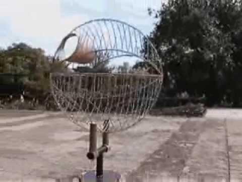 FERNANDEZ - Virtual Tour at MUBE - Steel Bird (Skeleton)