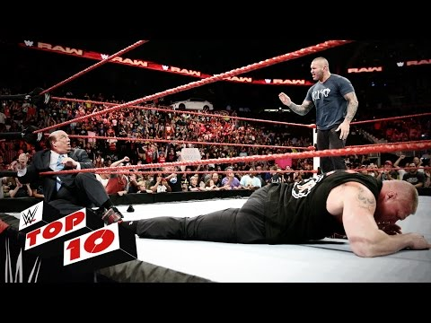 Top 10 Raw moments: WWE Top 10, August 1,...