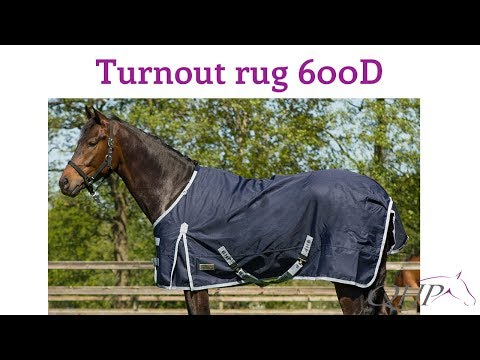 Turnout rug 600D - YouTube