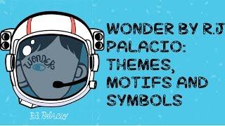 R.J. Palacio's Wonder: Themes, Motifs and Symbols - Annotation Guide