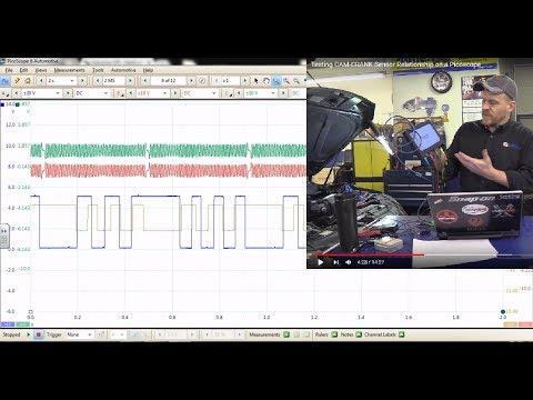 Testing CAM-CRANK Sensor Relationship On A Picoscope