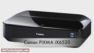 Canon PIXMA iX6520 Instructional Video
