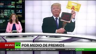 Donald Trump anunció al ganador de los premios 'Fake News'