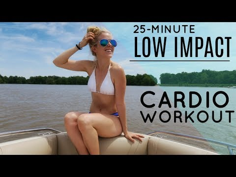 25-Minute At Home Cardio (Low Impact) | MFit
