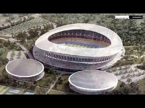 Febbraio 2018 - Japoma Sport Complex - Stadio Coppa D'Africa 2019