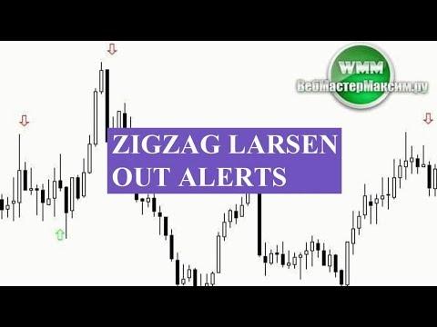 Индикатор Zigzag Larsen Out Alerts. Простые правила открытия сделки