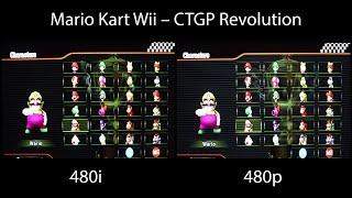 Nova Kablo por la Wii (480i vs 480p)