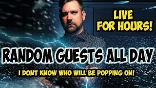 HOW LONG WILL I LAST? Random Guests All Day! - Bitcoin to $2,000? Acuitas Bot and much more!