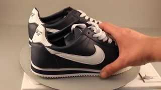 Кроссовки Nike Cortez синего цвета краткий обзор от магазина Soul Trend