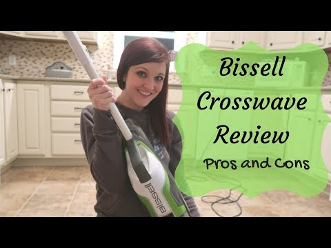 BISSELL CROSSWAVE REVIEW PT 2 | PROS AND CONS |