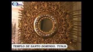 SALÓN DE EXPOSICIÓN de CUSTODIAS, SEMANA SANTA TUNJA 2013
