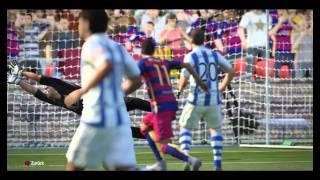 FIFA 16 FC Barcelona gegen Real Sociedad
