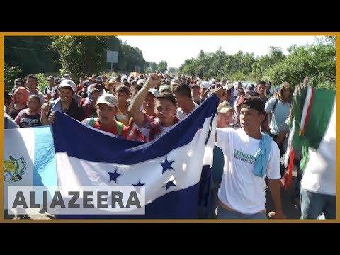 ???????????????? Migrant caravan continues towards dangers in Mexico | Al Jazeera English