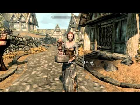 Skyrim Japanese Voice with English Subtitles  Ysolda