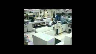 Halon System Discharge