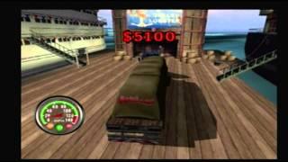 Big Mutha Truckers 1 Gameplay Round 1