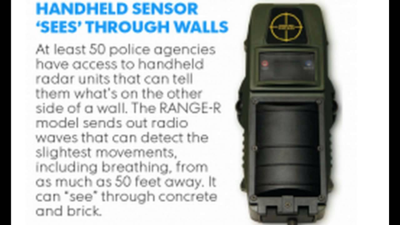 See Through Concrete Alert Over 50 Law Enforcement Agencies Secretly Using Device To