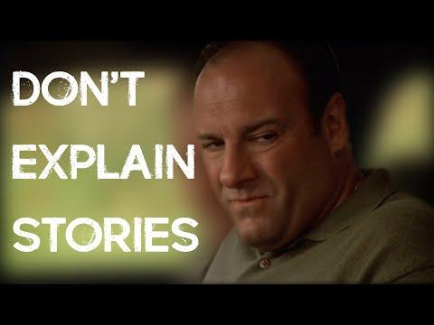 Stop telling stories