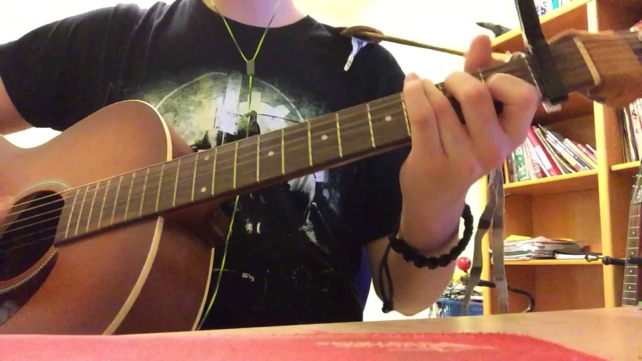 If i tremble front porch step guitar cover